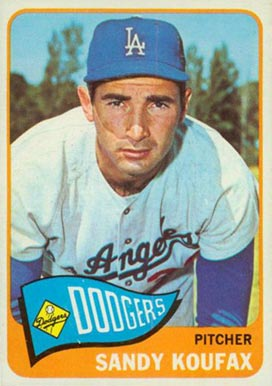1965 Topps Sandy Koufax #300 Baseball Card