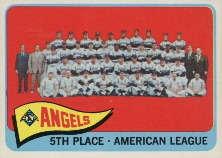 1965 Topps Los Angeles Angels Team #293 Baseball Card