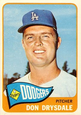 1965 Topps Don Drysdale #260 Baseball Card
