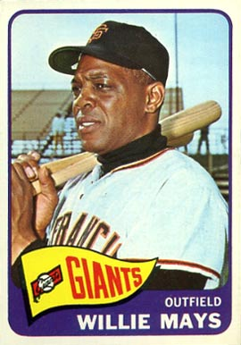 1965 Topps Willie Mays #250 Baseball Card