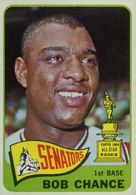 1965 Topps Bob Chance #224 Baseball Card