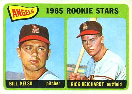 1965 Topps Angels Rookie #194 Baseball Card