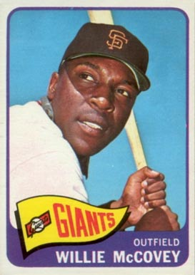 1965 Topps Willie McCovey #176 Baseball Card