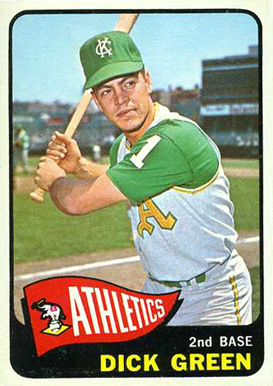 1965 Topps Dick Green #168 Baseball Card