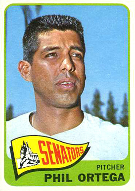 1965 Topps Phil Ortega #152 Baseball Card
