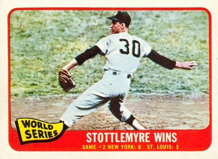 1965 Topps World Series Game #2 #133 Baseball Card