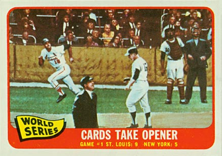 1965 Topps World Series Game #1 #132 Baseball Card