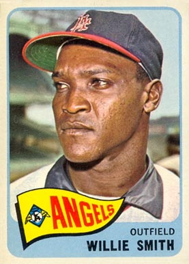 1965 Topps Willie Smith #85 Baseball Card