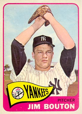 1965 Topps Jim Bouton #30 Baseball Card
