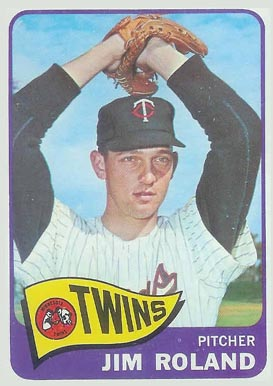 1965 Topps Jim Roland #171 Baseball Card