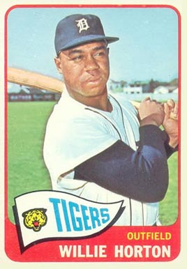 1965 Topps Willie Horton #206 Baseball Card