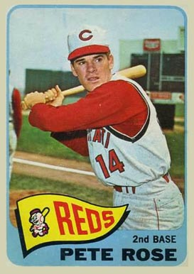 1965 Topps Pete Rose #207 Baseball Card