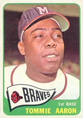 1965 Topps Tommie Aaron #567 Baseball Card