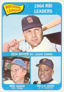1965 Topps Ken Boyer #6 Baseball Card