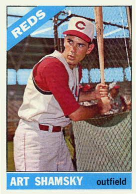1966 Topps Art Shamsky #119 Baseball Card