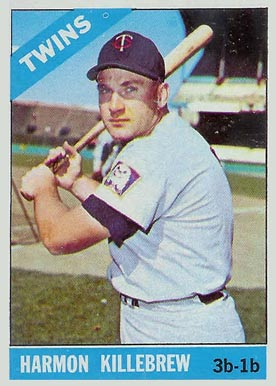 1966 Topps Harmon Killebrew #120 Baseball Card