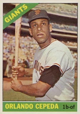1966 Topps Orlando Cepeda 132 Baseball Card Value Price Guide