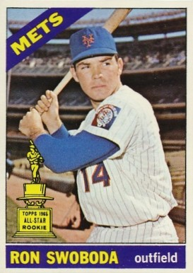 1966 Topps Ron Swoboda #35 Baseball Card