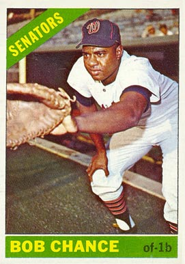 1966 Topps Bob Chance #564 Baseball Card