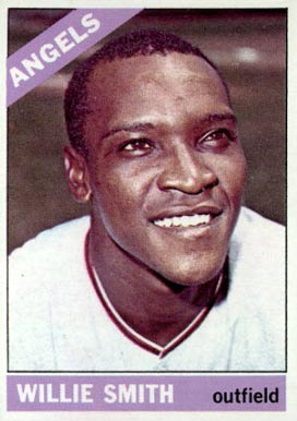1966 Topps Willie Smith #438 Baseball Card