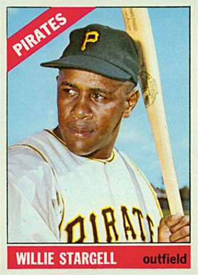 1966 Topps Willie Stargell #255 Baseball Card