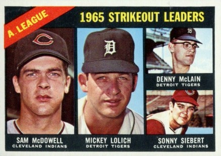1966 Topps Mickey Lolich #226 Baseball Card