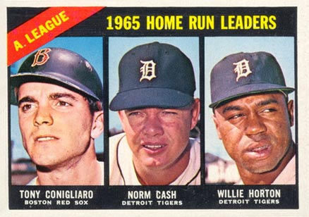 1966 Topps Norm Cash #218 Baseball Card