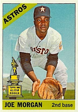 1966 Topps Joe Morgan #195 Baseball Card