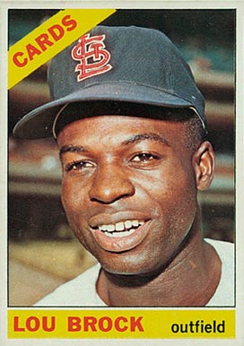 1966 Topps Lou Brock #125 Baseball Card
