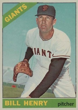 1966 Topps Bill Henry #115 Baseball Card