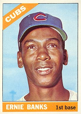 1966 Topps Ernie Banks #110 Baseball Card