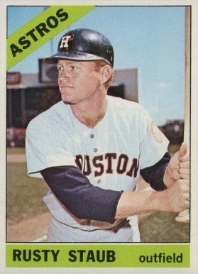 1966 Topps Rusty Staub #106 Baseball Card