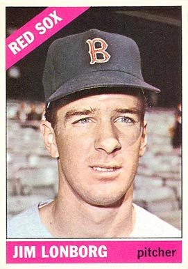 1966 Topps Jim Lonborg #93 Baseball Card