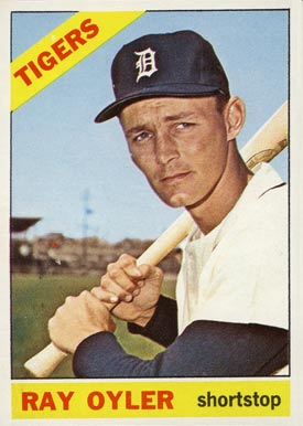 1966 Topps Ray Oyler #81 Baseball Card