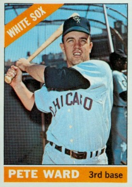 1966 Topps Pete Ward #25 Baseball Card