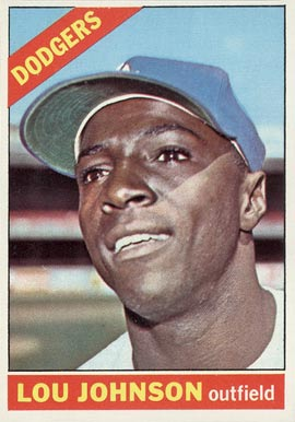 1966 Topps Lou Johnson #13 Baseball Card