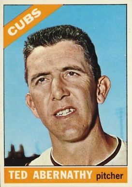 1966 Topps Ted Abernathy #2 Baseball Card