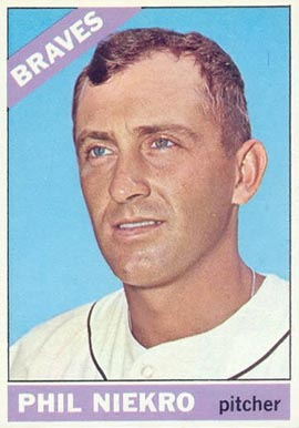 1966 Topps Phil Niekro #28 Baseball Card