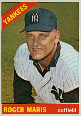 1966 Topps Roger Maris #365 Baseball Card