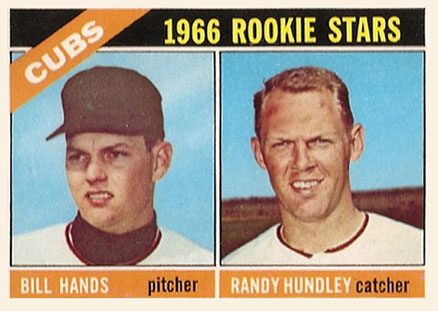 1966 Topps Bill Hands #392 Baseball Card