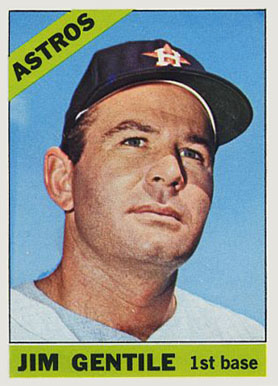 1966 Topps Jim Gentile #45 Baseball Card