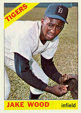1966 Topps Jake Wood #509 Baseball Card