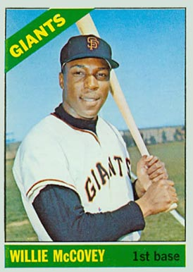 1966 Topps Willie McCovey #550 Baseball Card