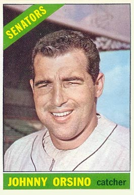 1966 Topps Johnny Orsino #77 Baseball Card