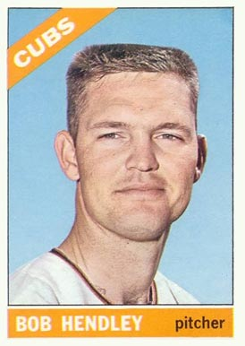 1966 Topps Bob Hendley #82 Baseball Card