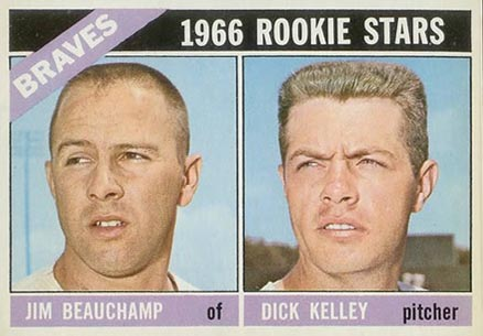 1966 Topps Jim Beauchamp #84 Baseball Card