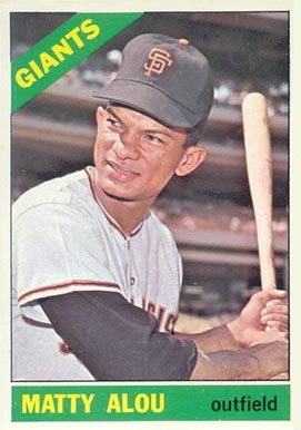 1966 Topps Matty Alou #94 Baseball Card