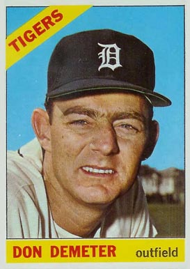 1966 Topps Don Demeter #98 Baseball Card