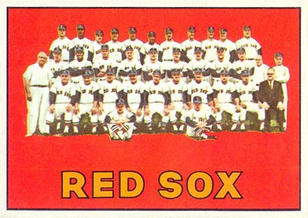1967 Topps Boston Red Sox #604 Baseball Card
