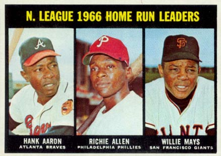 1967 Topps Hank Aaron #244 Baseball Card